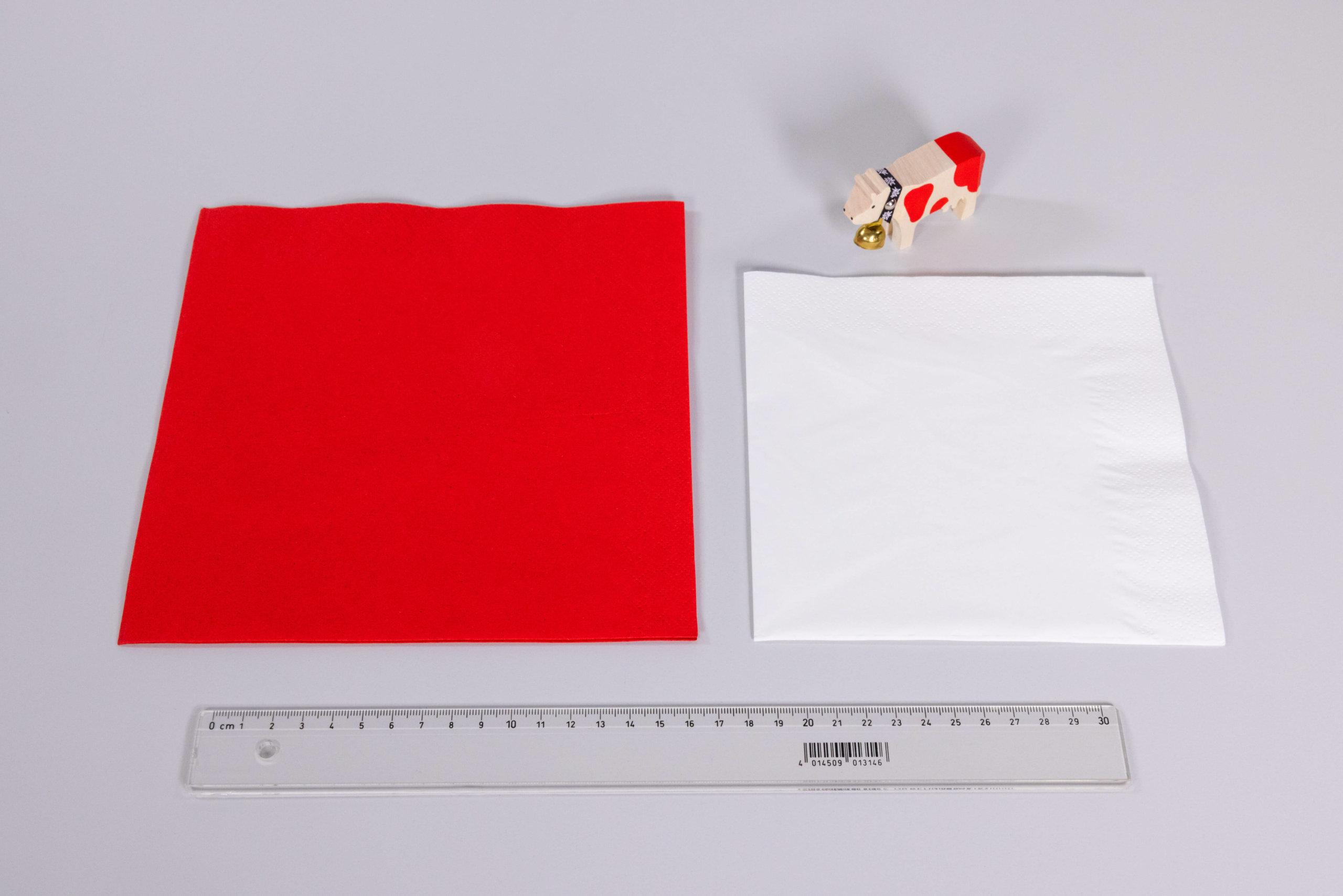 Napkin folding 1 August